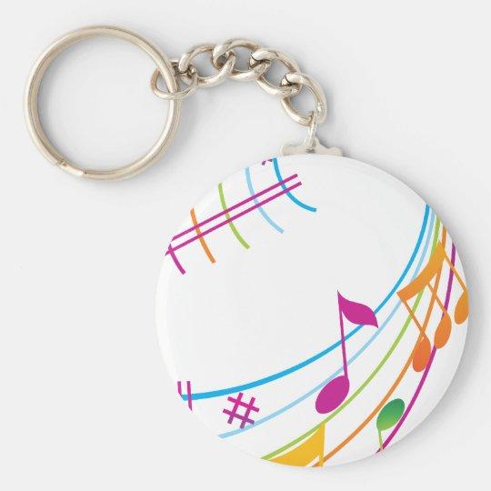 Music Art Keychain