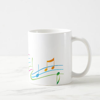 Music Art Classic White Coffee Mug