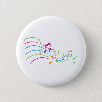 Music Art Pinback Button