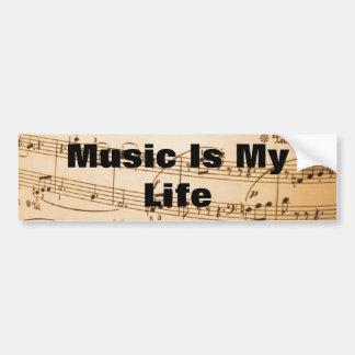 music art vol 1 bumper sticker