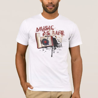 Music as Life T-Shirt