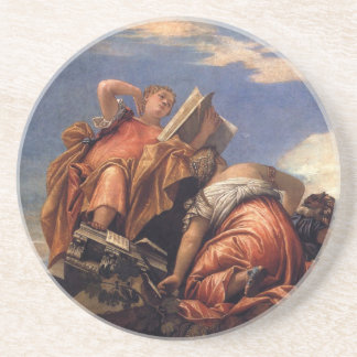 Music, Astronomy and Deceit by Paolo Veronese Coaster