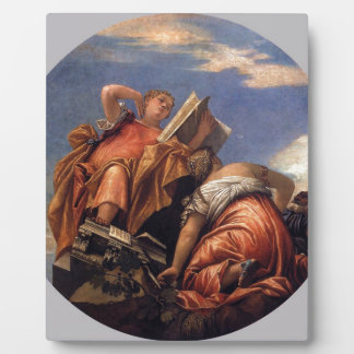 Music, Astronomy and Deceit by Paolo Veronese Plaque