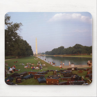 Music at the DC Mall Mouse Pad