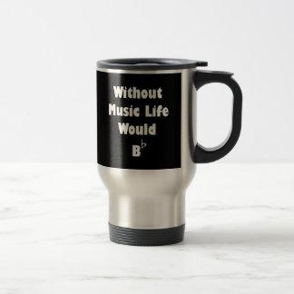 Music B Flat Travel Mug