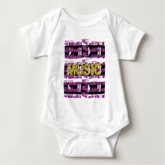 Music Baby Bodysuit