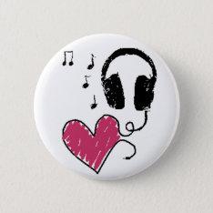 Music Badge Button at Zazzle