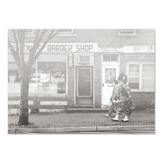 Music - Bag piper - The Scotsman Card