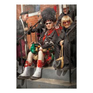 Music - Bag Pipes - Somerville, NJ - Piper resting Invite
