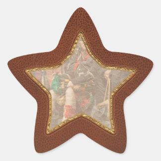 Music - Bag Pipes - Somerville, NJ - Piper resting Star Sticker