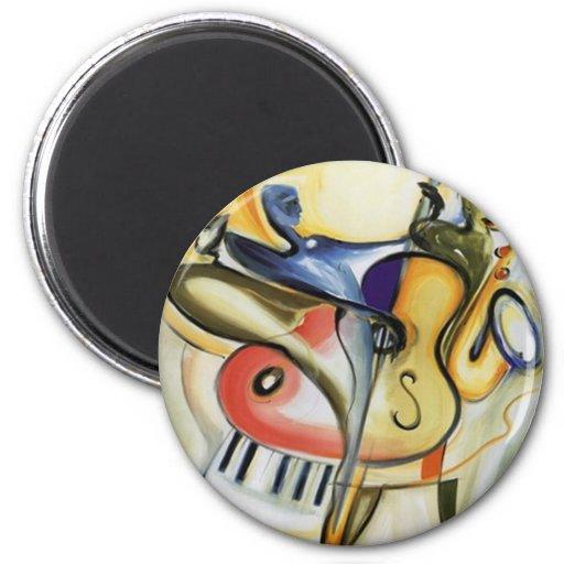 music band fridge magnet