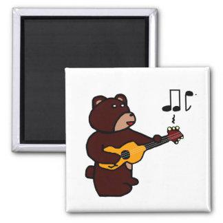 Music Bear Magnet