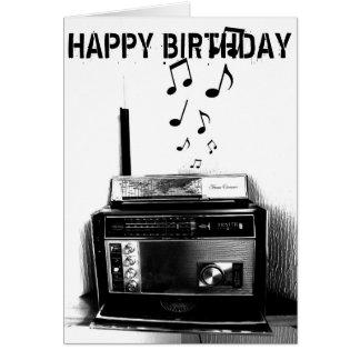 Music BEAT Birthday Card