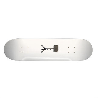 Music Black Stand Graphic Image Design 1 Skateboard Deck