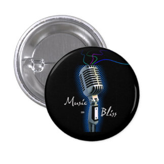 Music = Bliss  mini button