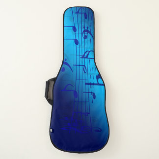 Music Blue Electric Guitar Case