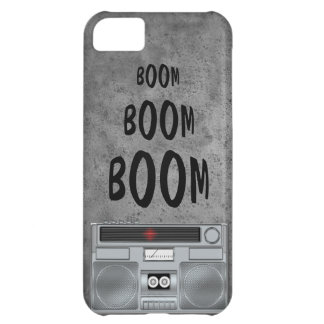 Music Boom Box iPhone Case
