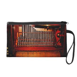 music box band wristlet purse