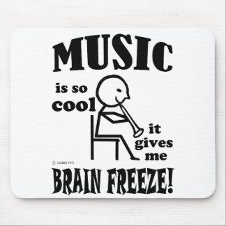 Music, Brain Freeze Mouse Pad