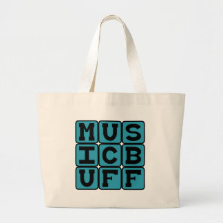 Music Buff, Knower of Music Trivia Tote Bags