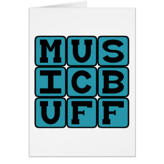 Music Buff, Knower of Music Trivia Card