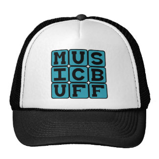Music Buff, Knower of Music Trivia Trucker Hat