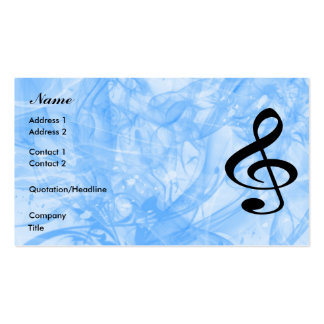Music Double-Sided Standard Business Cards (Pack Of 100)