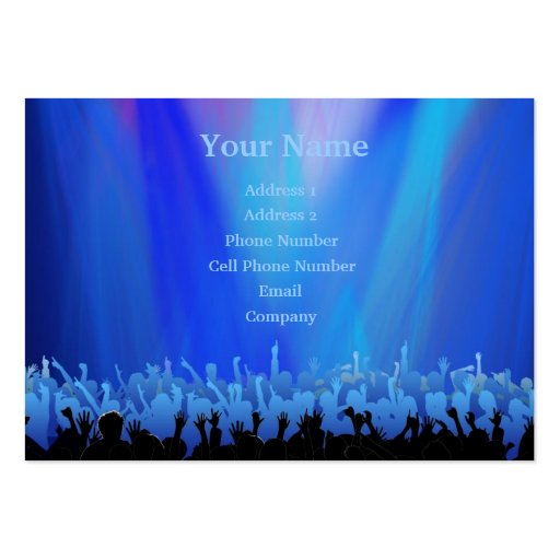 Music Business Card - Mosh Pit