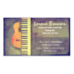 music business card standard business cards