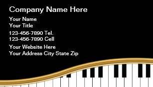 music business cards - Music Business Cards