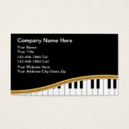 Music Business Cards at Zazzle