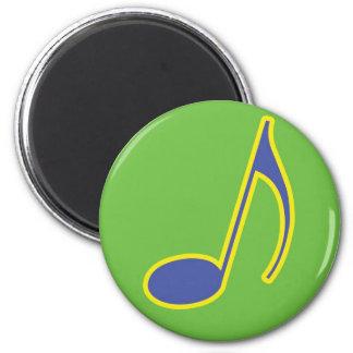Music Business Necessities 2 Inch Round Magnet