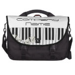 Music Business Theme Laptop Commuter Bag