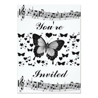Music & Butterflies_ Card