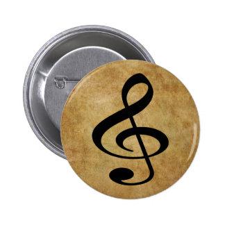 Music Pinback Buttons