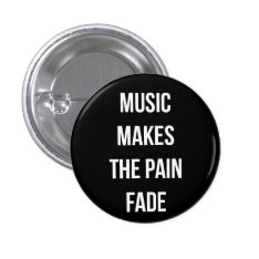 Music Button at Zazzle