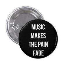 Music Button at Zazzle