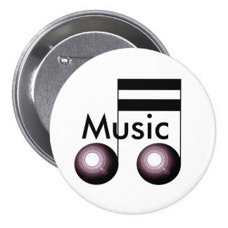 Music Button Pin Musicians Teachers Band
