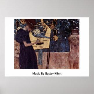 Music By Gustav Klimt Posters