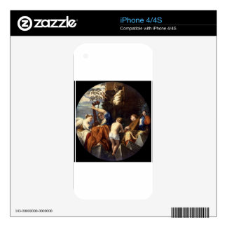 Music by Paolo Veronese Decal For iPhone 4