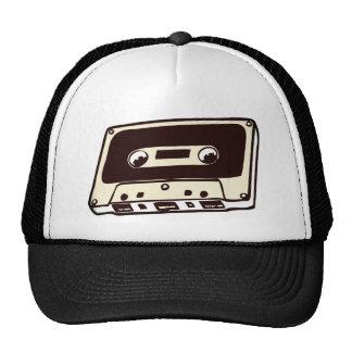 MUSIC CASSETE TAPE TRUCKER HAT