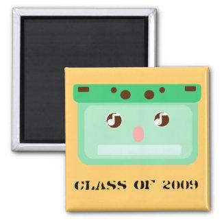 music cassette 2 inch square magnet
