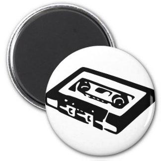 Music Cassette Design 2 Inch Round Magnet