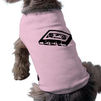 Music Cassette Design Doggie T Shirt
