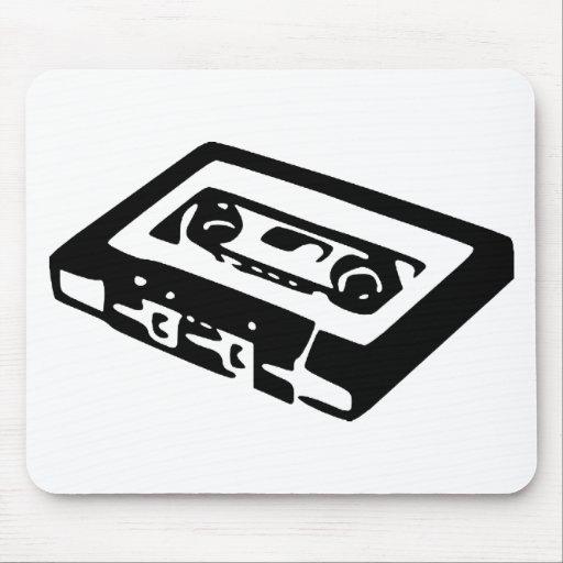 Music Cassette Design Mousepads