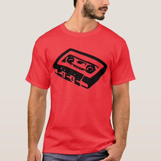 Music Cassette Design T-Shirt