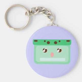 music cassette keychain