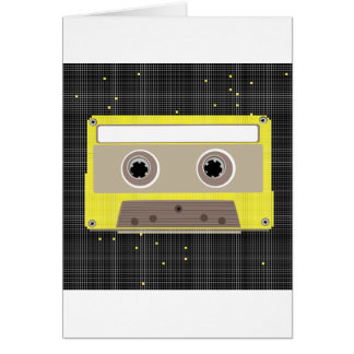 Music Cassette Note Cards