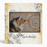 Music & Cats Binder Album