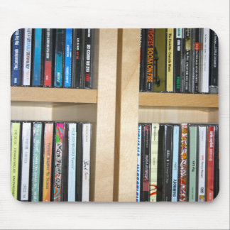 Music CD's by Various Artists Mouse Pad